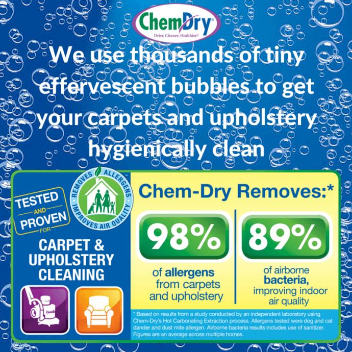 Chem-Dry vs. Others Chem-Dry Nova
